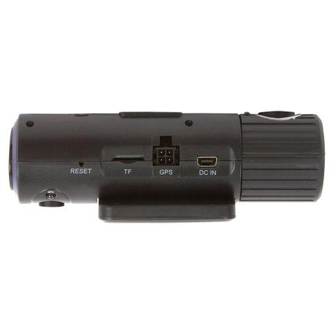 Автомобильный видеорегистратор с GPS и 2 камерами Globex X6000 Превью 2