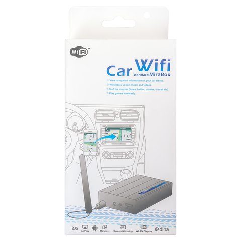 Smartphone/iPhone Wi-Fi Mirror Car Adapter Preview 7