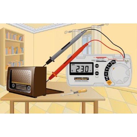 Цифровий мультиметр Laserliner MultiMeter-PocketBox Прев'ю 2
