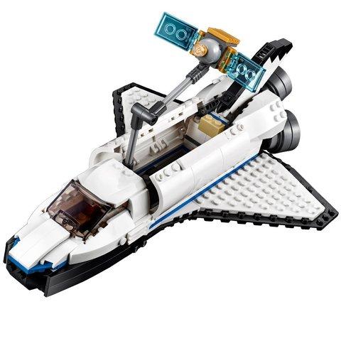 Конструктор LEGO Creator Космічний дослідницький шаттл 31066 Прев'ю 2