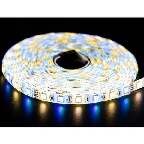 Світлодіодна стрічка RGB+WW SMD5050 (300 світлодіодів, 12 В, 5 м, IP65) Прев'ю 2
