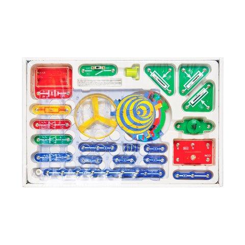 Електронний конструктор ЗНАТОК Світло та колір (24 схеми) Прев'ю 1