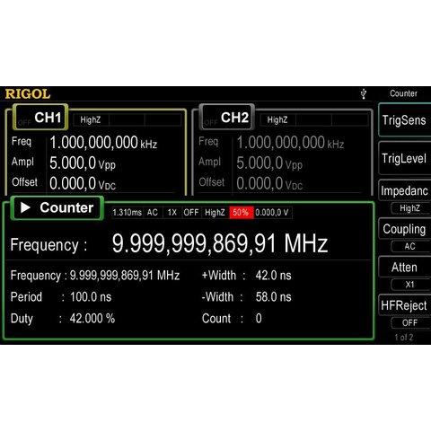 Arbitrary Waveform / Function Generator RIGOL DG4062 Preview 5