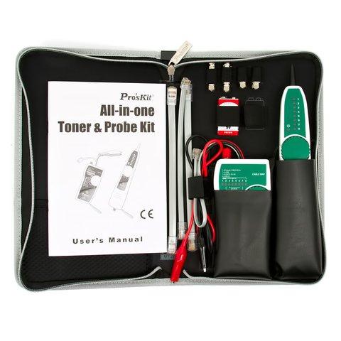 Network Toner & Probe Kit Pro'sKit MT-7068 - Preview 6
