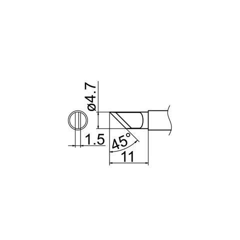 Soldering Tip HAKKO T12-KR Preview 4