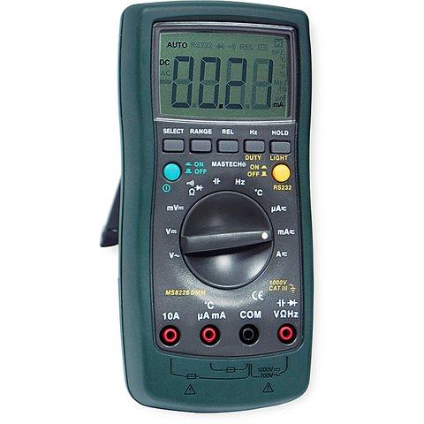 Digital Multimeter MASTECH MS8226 Preview 4